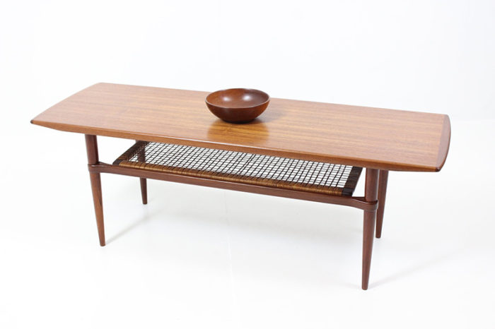 Retro Vintage Coffee Table by Henry W. Klein