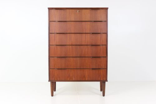 Retro Vintage Minimalist Chest of Drawers by Henning Jørgensen for Fredericia Furnitur