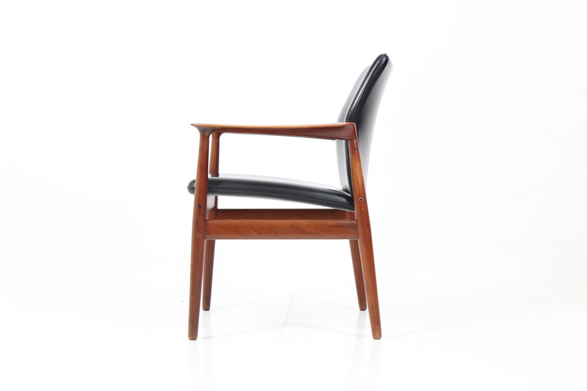 Retro Vintage Armchair by Grete J. Jalk for Glostrup Møbelfabrik