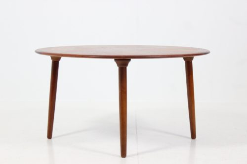 Retro Vintage Patterned Coffee Table by Henry W. Klein for Bramin Møbler