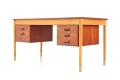 Vintage Retro Desk no. 130/1 by Børge Mogensen for Søborg Møbelfabrik