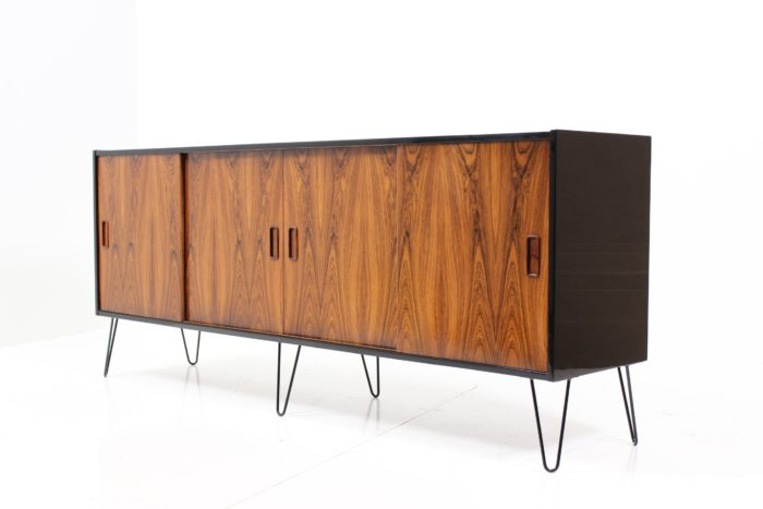 Retro Vintage Original 'Black Gold' Series Sideboard in Teak