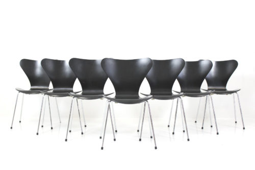 Vintage Side Chair Syveren by Arne Jacobsen for Fritz Hansen Eftf