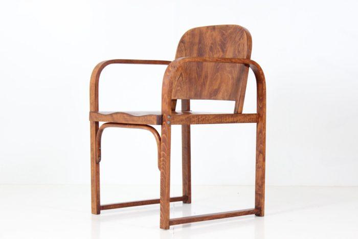 Vintage Art-Deco Bentwood Armchair by Tatra nábytok Pravenec