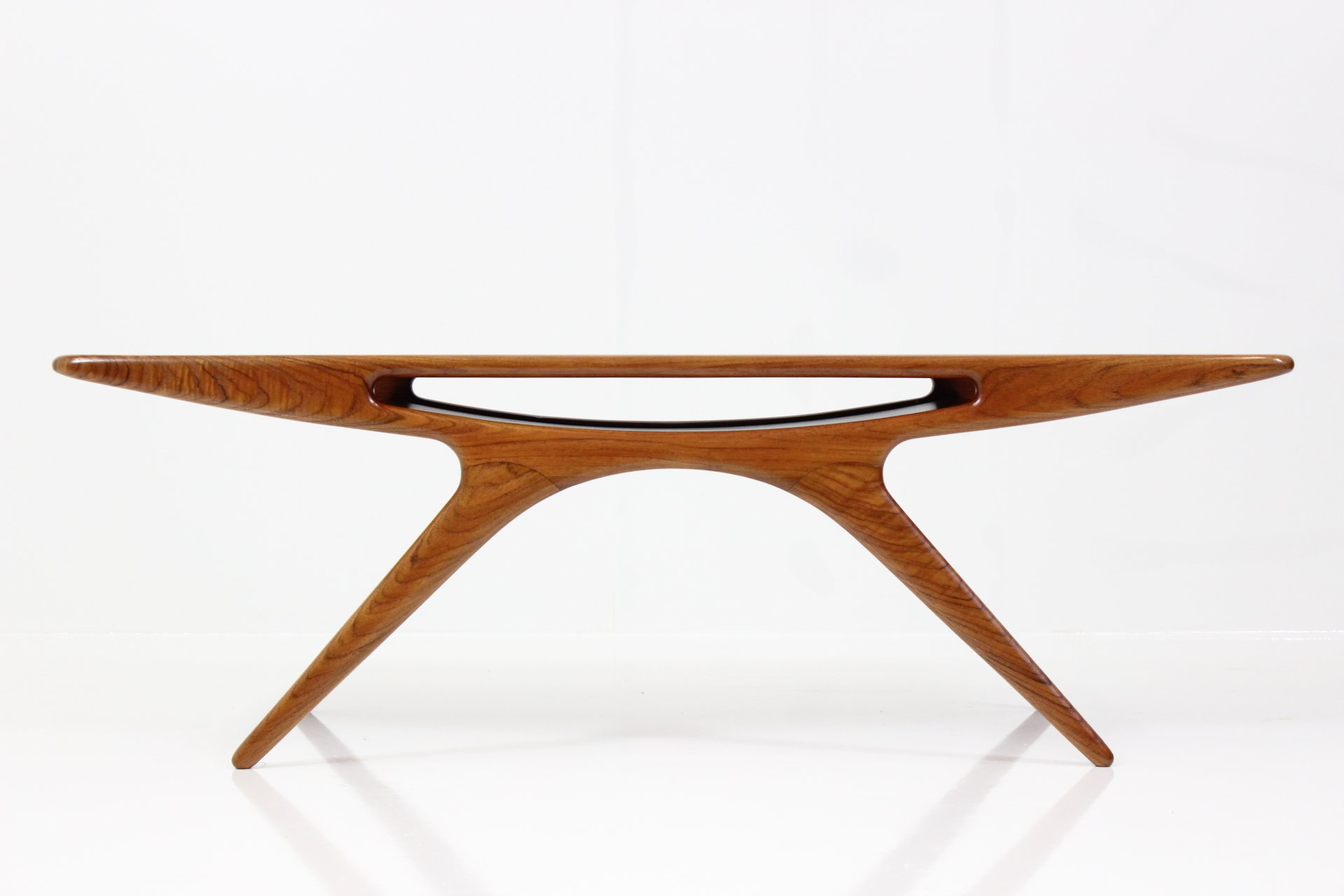 Vintage Coffee Table Smiley by Johannes Andersen for C.F. Christensen Silkeborg