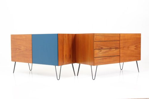 Danish Vintage Sideboards by Ib Kofod-Larsen for Brande
