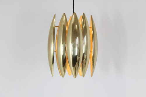Vintage Kastor Suspension Pendant Lamp by Jo Hammerborg for Fog & Mørup