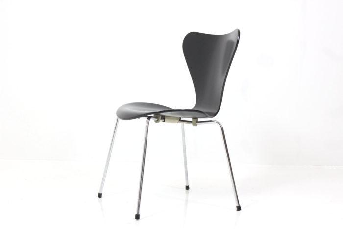 Vintage Side Chair Syveren by Arne Jacobsen for Fritz Hansen Eftf