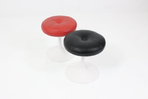 Vintage Minimalist Stool Satellite Tulip by Borje Johanson for Johanson Design
