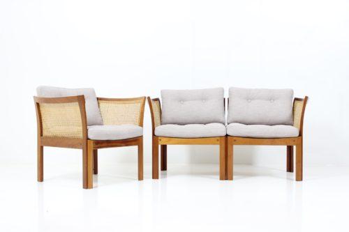 Retro Vintage Lounge Chair & Sofa by Illum Wikkelsø