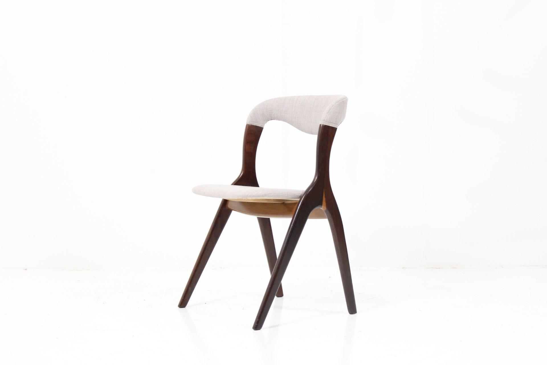 Organic Shaped Easy Chair by Kai Kristiansen