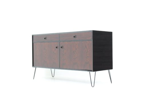 Danish Vintage Black Gold Series Sideboard in Palisander