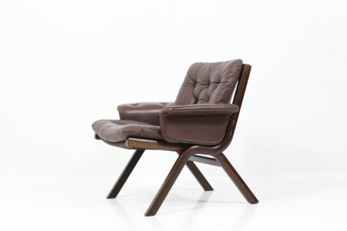 Vintage Retro Three Armchairs by Ingmar Relling for Westnofa