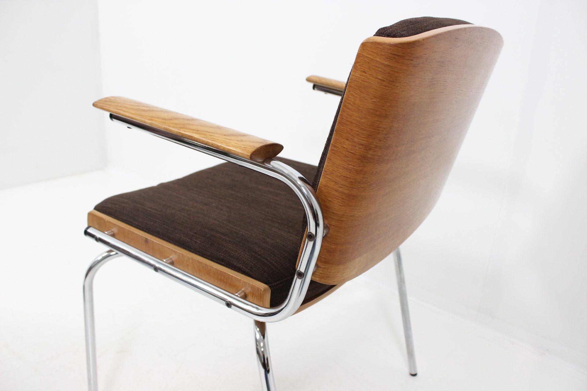 Vintage Retro Four Dining Chairs by Duba Møbelindustri