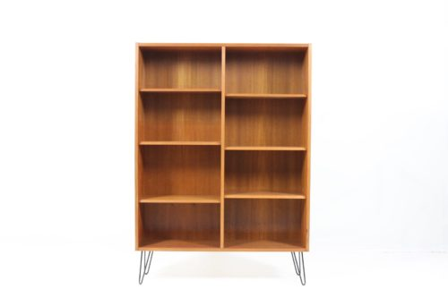 Retro Vintage Original Capacious Bookcase / Shelf Rack in Teak