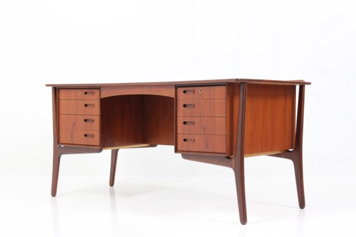 Vintage Retro Writing desk by S. Å. Madsen for H. P. Hansens Møbelindustri