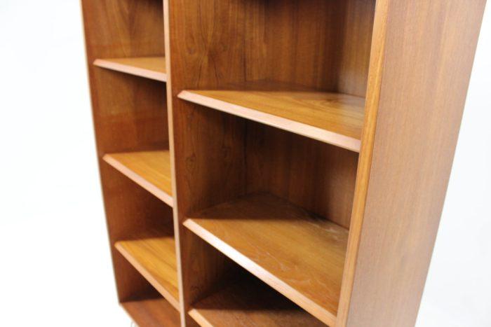 Retro Vintage Original Capacious Bookcase / Shelf Rack in Teak