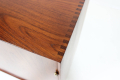 cabinet no. 304 in impressive solid teak wood by P. Hvidt & O. Mølgaard-Nielsen for Søborg Møbelfabrik